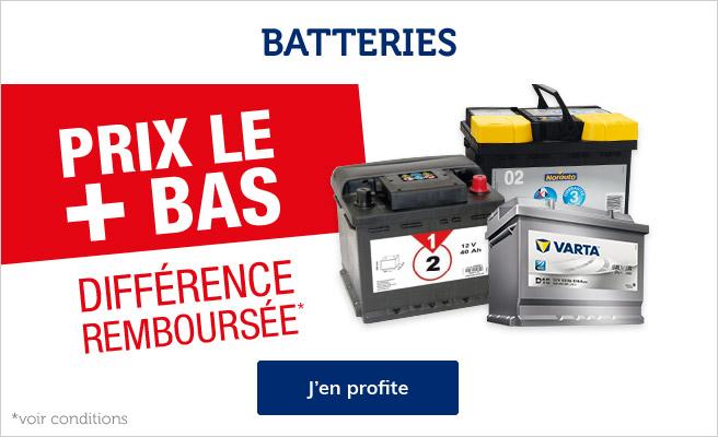 prix bas batteries