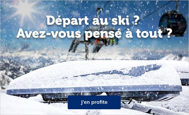 départ au ski