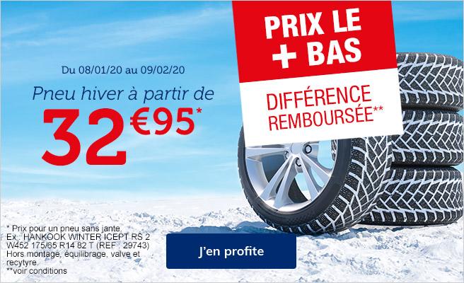 prix bas pneus hiver