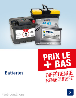 prix bas batteries