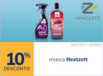 10% de desconto marca Nextzett (Einzett)
