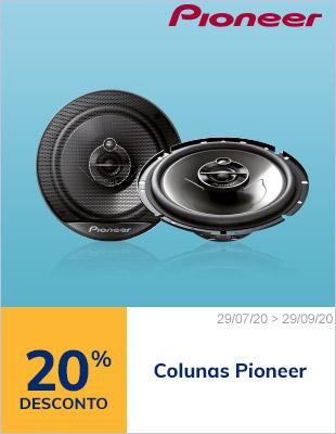 20% desconto colunas Pioneer