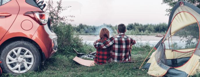 Articoli per campeggio, camper