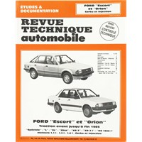 Revue Technique ETAI Ford Escort-Orion