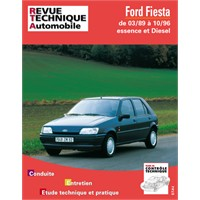 Revue Technique ETAI Ford Fiesta essence et diesel de 90 à 93