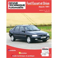 Revue Technique ETAI Ford Escort essence et diesel à partir de 91