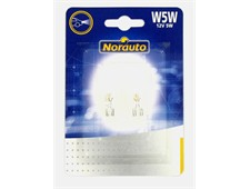2 ampoules NORAUTO WEDGE BASE W5W