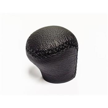 Pommeau en cuir noir spécifique bague RACE SPORT