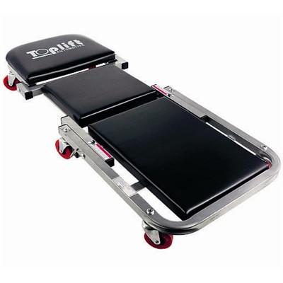 promotion Chariot de visite / siège en aluminium