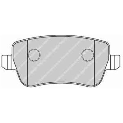 promotion 4 plaquettes de frein arrière FERODO référence FDB1798
