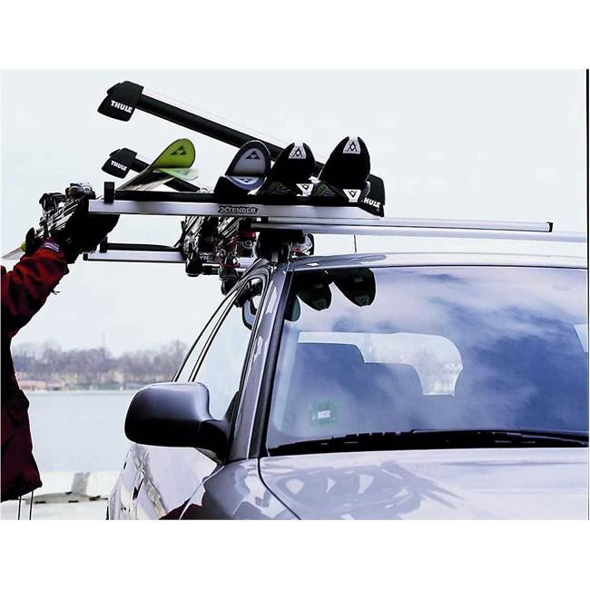 porte skis sur barres de toit thule xtender 739 norauto fr