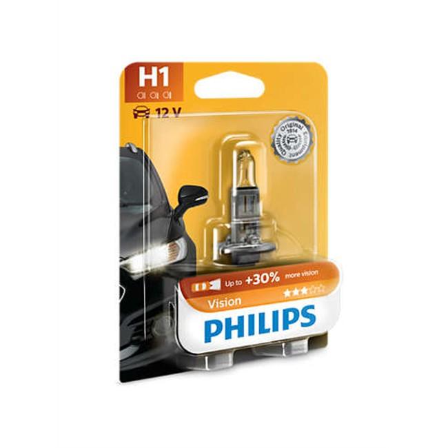1ampoule philips h1 vision. Black Bedroom Furniture Sets. Home Design Ideas