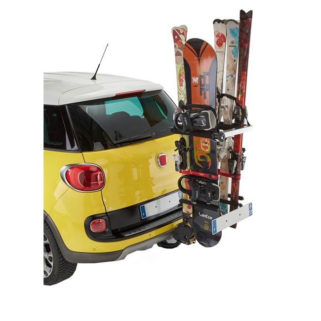 porte skis sur attelage mottez a022p norauto fr