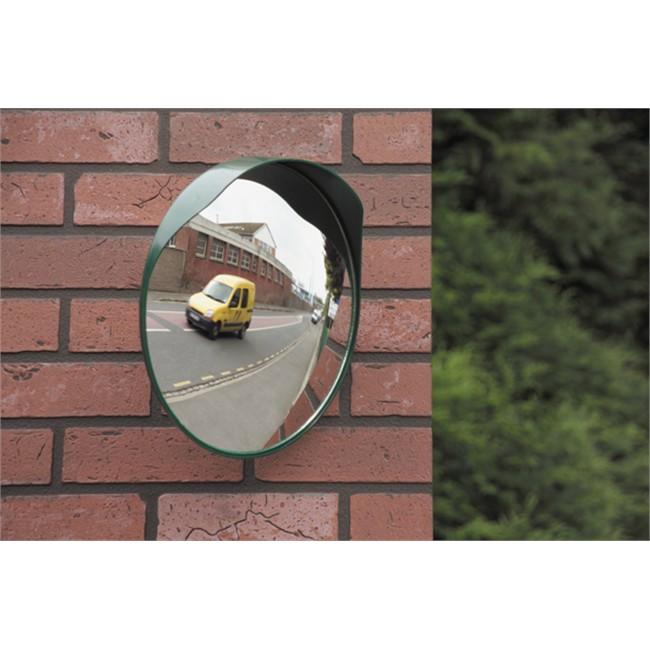 Miroir convexe sortie garage ou parking 40 cm mottez for Miroir concave convexe