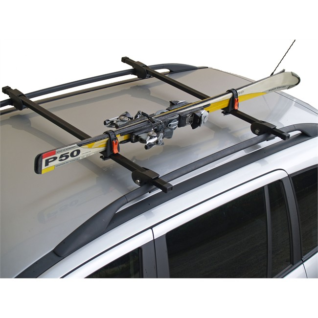 porte skis sur barres de toit ski rack. Black Bedroom Furniture Sets. Home Design Ideas