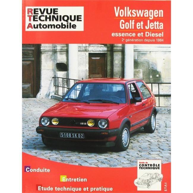 1992 Volkswagen Gti Transmission: Revue Technique ETAI VW Golf 2 Et Jetta 2 Essence Et