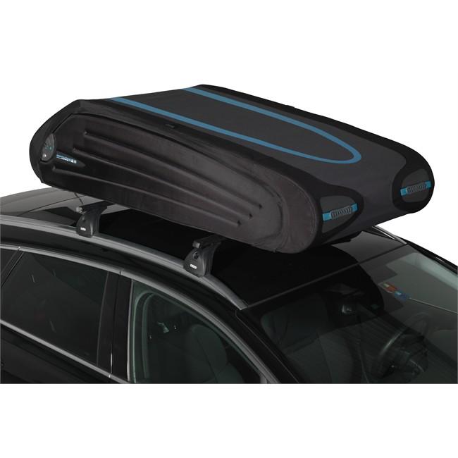 coffre de toit pliable 570 litres norauto bermude 5700 flex noir norauto fr