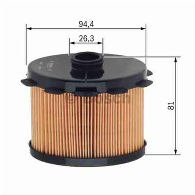 filtre gasoil bosch r f n1703