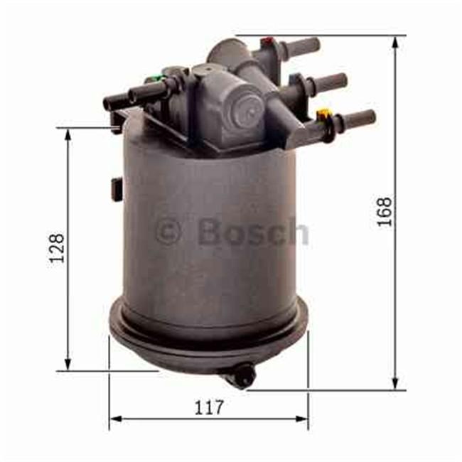 filtre gasoil bosch r f n6461. Black Bedroom Furniture Sets. Home Design Ideas